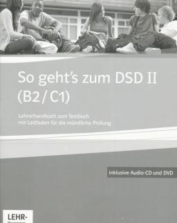 So geht's zum DSD II (B2/C1) Lehrerhandbuch zum Testbuch mit Audio CD und DVD