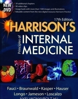 Harrison's Principles of Internal Medicine 17th edition with DVD-Rom