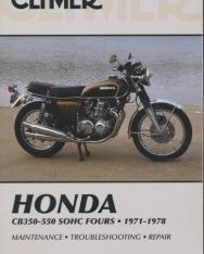 Honda CB350-550cc SOHC Fours 1971-1978 - Maontenance - Troubleshooting - Repair