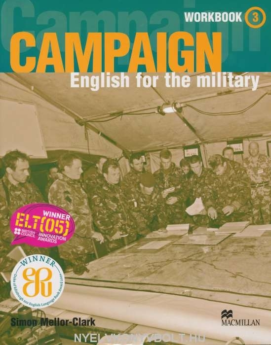 Campaign - English for the Military 3 Workbook with Audio CD
