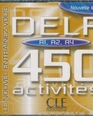 DELF 450 Activités A1,A2,A4 double CD Audio