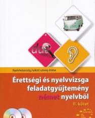 Érettségi és nyelvvizsga feladatgyűjtemény német nyelvből II. kötet + 2 CD (MX-283)