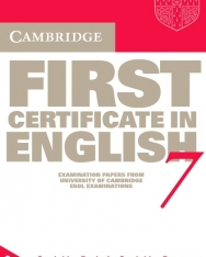 Cambridge First Certificate in English 7 Cassette Set