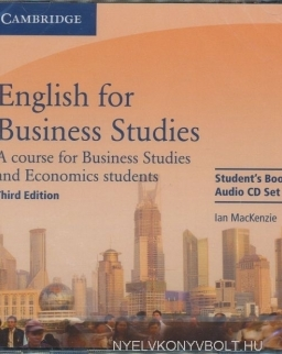 English for Business Studies 3rd Edition Student's Book Audio CD Set