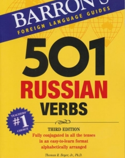 501 Russian Verbs - Barron's Foreign Language Guides