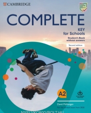 Complete Key for Schools Student's Book without Answers + Online Practice Test - For the Revised Exam from 2020