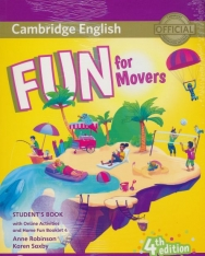 Fun for Movers 4th Edition Student's Book with Online Activities with Audio and Home Fun Booklet 4