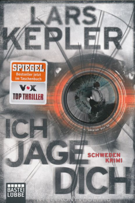 Lars Kepler: Ich jage dich