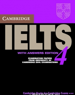 Cambridge IELTS 4 Official Examination Past Papers Student's Book with Answers and 2 Audio CDs Self-Study Pack