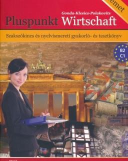 Pluspunkt Wirtschaft - Szakszókincs és Nyelvismereti Gyakorló- és Tesztkönyv