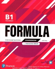 Formula B1 Preliminary Coursebook and Interactive eBook with key with Digital Resources & App
