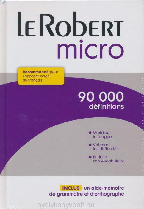 Dictionnaire Le Robert Micro 2015