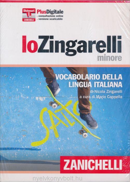 lo Zingarelli minore - Vocabolario della lingua italiana - Versione Plus download senza scadenza e consultazione online 365 giorni