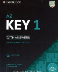 A2 Key 1 for the Revised 2020 Exam - Student's Book with Answers with Audio and Resource Bank - Authentic Practice Tests