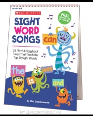 Sight Word Songs Flip Chart - 25 Playful Piggyback Tunes That Teach the Top 50 Sight Words
