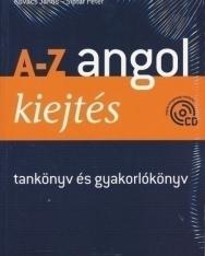 A-Z Angol Kiejtés tankönyv és gyakorlókönyv + Audio CD