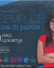 Semplice Pratica di parole - 400 olasz szókártya haladó szinten (MX-629)