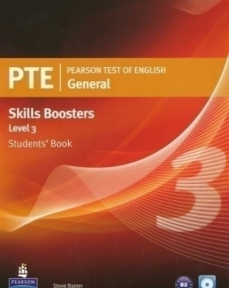 PTE General Skills Boosters 3 Student's Book with Audio CD
