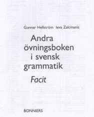 Andra övningsboken i svensk grammatik Facit