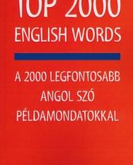 Top 2000 English Words - A 2000 legfontosabb angol szó példamondatokkal
