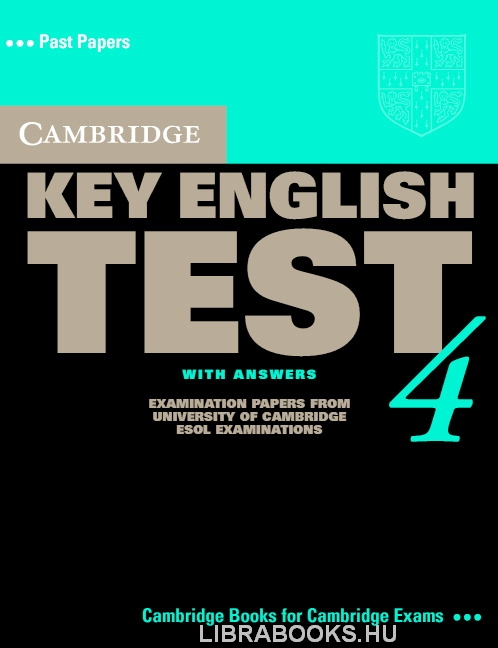 Cambridge Key English Test 4 Official Examination Past Papers 2nd Edition Student's Book with Answers and Audio CD Self-Study Pack