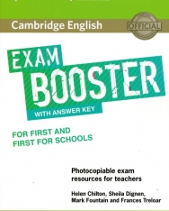 Cambridge English Exam Booster for First and First for Schools with Answer Key with Audio - Photocopiable Exam Resources for Teachers