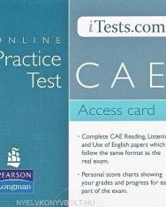 Online Practice Test CAE Access card