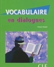 Vocabulaire en dialogues Niveau débutant avec CD Audio