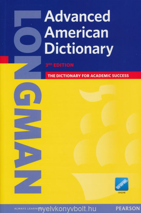 Longman Advanced American Dictionary 3rd Edtion Paperback with Online Dictionary Access Code