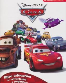 Cars. Libro Educativo Disney Con Actividades Y Pegatinas