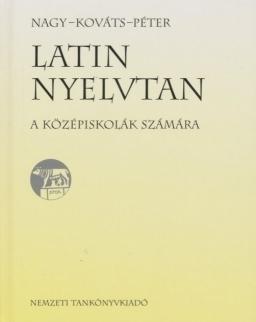 Latin Nyelvtan középiskolák számára (NT-02075)