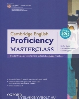 Cambridge English Proficiency Masterclass for the 2013 exam Student's Book with Online Skills & Language Practice