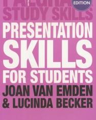 Presentation Skills for Students 2nd Edition - Palgrave Study Skills