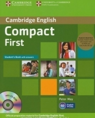 Compact First Student's Book with answers + CD-Rom and Audio CDs (2)