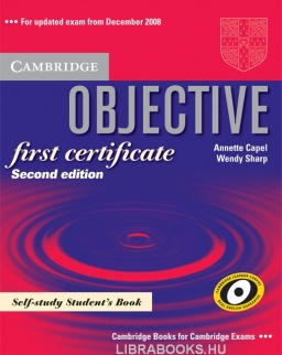 Objective First Certificate Self-study Student's Book Second Edition