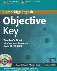 Objective Key Teacher's Book with Teacher's Resources Audio CD/CD-Rom Second Edition
