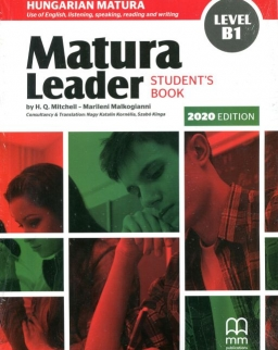 Matura Leader Level B1 Student's Book with Audio CD - 2020 edition