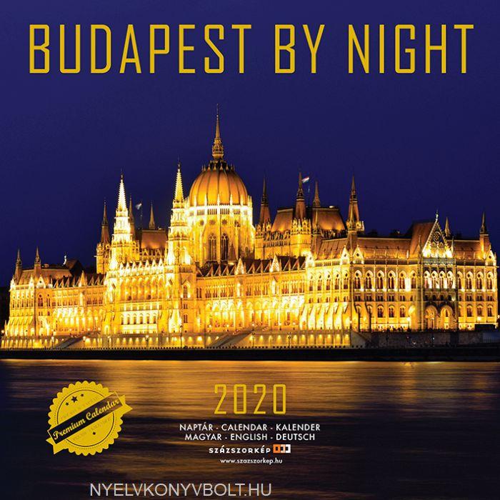 Budapest by Night falinaptár 2020 (22x22)