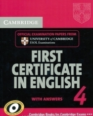 Cambridge First Certificate in English 4 Official Examination Past Papers Student's Book with Answers for Updated Exam 2008 (Practice Tests)
