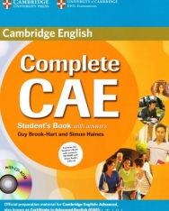 Cambridge English Complete CAE Student's Book with Answers, CD-ROM and Class Audio CDs (3)