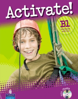 Activate! B1 Workbook with Key and iTests CD-ROM
