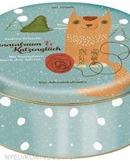 Adventskalender Tannenbaum und Katzenglück - Mit Samtpfoten durch den Advent