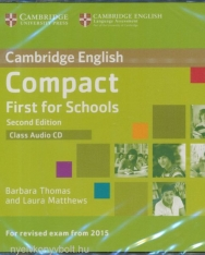 Cambridge English Compact First for Schools - Second Edition - Class Audio CD
