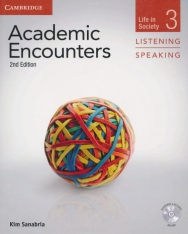 Academic Encounters Level 3 Life in Society Student's Book Listening and Speaking with DVD Second Edition