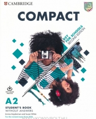 Compact A2 Key for Schools Studet's Book without Answers + Online Practice - For the Revised Exam 2020