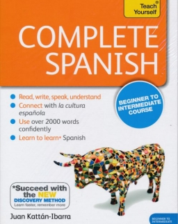 Teach Yourself - Complete Spanish from Beginner to Intermediate Book & Double CD Pack
