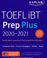 TOEFL iBT Prep Plus 2020-2021 : 4 Practice Tests + Proven Strategies + Online + Audio - For the Revised TOEFL