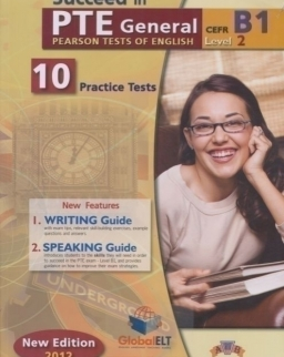 Succeed in PTE General Level 2 B1 - 10 Practice Tests - Self Study Edition (Student's Book, Self Study Guide and Audio MP3 CD)