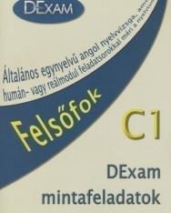 DExam mintafeladatok C1 Felsőfok Könyv + Audio CD