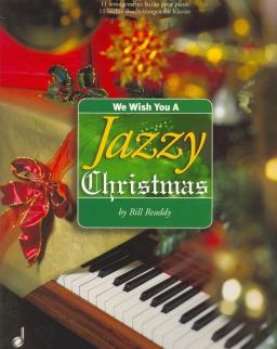 We wish You a jazzy Christmas - 11 karácsonyi dal, jazz zongora